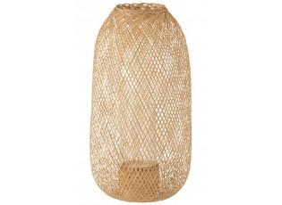 Bambusová lucerna v přírodním provedení Hazel - Ø 30*60 cm