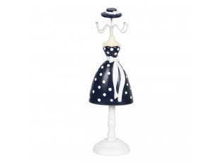 Držák na šperky v designu panenky v šatech Robe - 10*8*32 cm