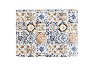 4ks pevné korkové prostírání s ornamenty Madrid  - 30*40*0,4cm