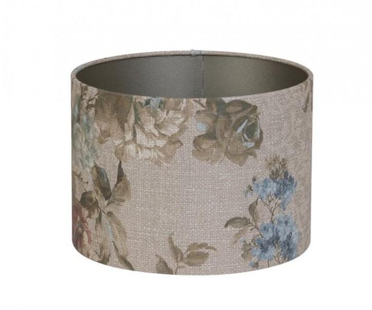 Květované stínidlo na závěsnou lampu - Ø 50* 38cm/ E27