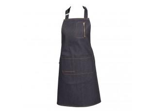 Kuchyňská zástěra v džínovém designu - 80*73 cm