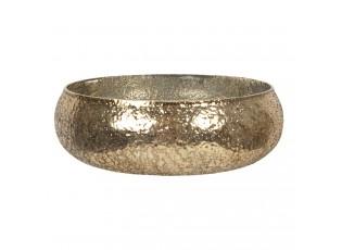 Dekorační zlatá mísa Maxence – Ø 22*6 cm