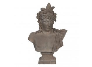 Kameninová busta v antickém stylu Géraud - 42*23*65 cm