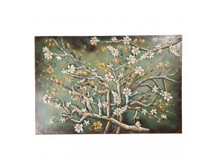 Nástěnný obraz rozkvetlých větví - 120*5*80 cm