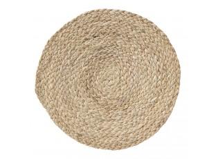 Kulaté přírodní prostírání z mořské trávy - Ø 30 cm