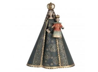 Dekorativní soška Panny Marie s Ježíšem - 28*15*35 cm