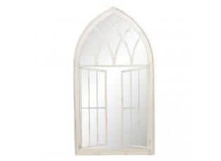 Nástěnné zrcadlo v designu otevřeného okna Clovis - 64*4*118 cm