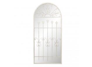 Nástěnné zrcadlo v designu okna Adnot - 65*2*140 cm
