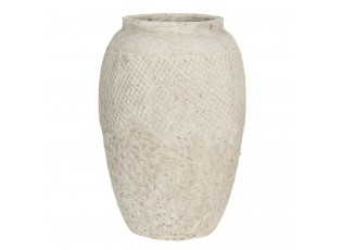 Cementová váza Clara na květiny - Ø 23*33 cm