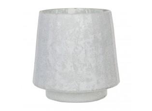 Skleněný svícen na čajovou svíčku Enzo - Ø 13*13 cm