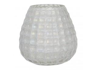 Skleněný svícen na čajovou svíčku Enzo - Ø 10*10 cm