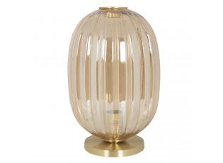 Stolní lampa Gatien se zlatým podstavcem – Ø 20*35 cm E14/max 1*40W