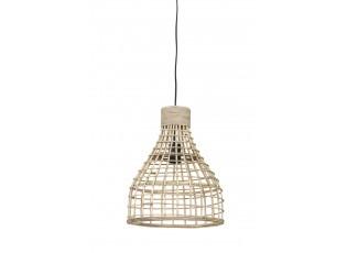 Přírodní ratanové závěsné světlo Puerto - Ø 34*41cm