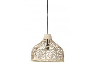 Přírodní ratanové závěsné světlo Pocita - Ø 42*35cm