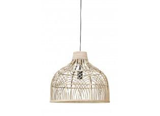 Přírodní ratanové závěsné světlo Pocita - Ø 48*43cm