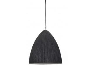 Šedé závěsné keramické světlo Areka - Ø 25*29 cm