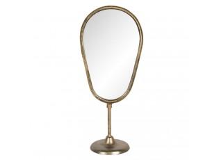 Bronzové stolní kosmetické zrcadlo - 18*12*41 cm