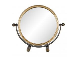 Stojací zrcadlo ve zlatém rámu Telesphore - 32*10*28 cm