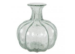 Skleněná baňatá váza Ruby - Ø 18*21 cm