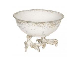 Dekorativní miska s patinou - Ø 17*11 cm