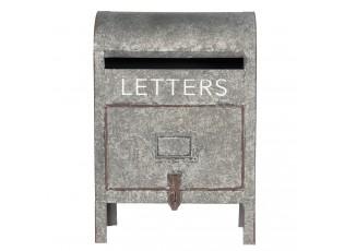 Dekorační poštovní schránka na nožičkách - 28*16*40 cm
