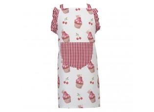 Dětská kuchyňská zástěra Cherry Cupcake - 48*56 cm