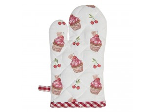 Bavlněná kuchyňská chňapka pro děti Cherry Cupcake - 12*21 cm