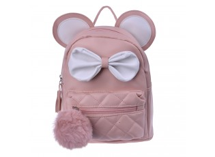 Béžový batoh s ušima Thiery - 21*11*23 cm