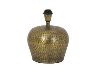Bronzová kovová základna k lampě Jaco antique - Ø 23*29,5 cm / E27