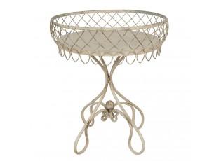 Kovový odkládací stolek Rosana - 55*65 cm