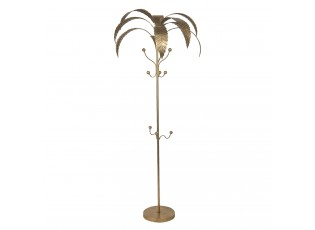 Zlatý věšák na kabáty Palma - 69*188 cm
