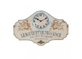 Nástěnné vintage hodiny Provence - 50*3*33 cm / 1*AA