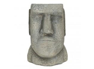Květináč v designu hlavy muže Diriger - 11*10*16 cm