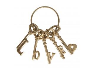 Dekorativní svazek klíčů Love - 10*5*20 cm