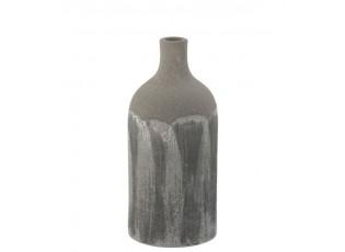 Šedá granitová dekorační váza Transition XS - Ø 12*25 cm