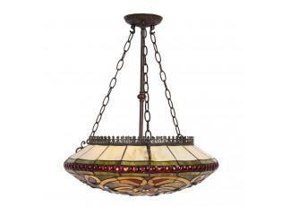 Závěsné stropní světlo Tiffany - 51*112 cm E27/max 3*60W