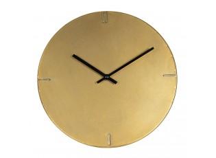 Minimalistické zlaté nástěnné hodiny Rhea – Ø 30*3 cm / 1*AA