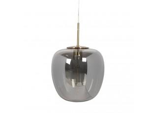 Skleněné závěsné světlo s žárovkou Gatien - 22*22/160 cm