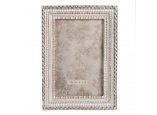 Stříbrný fotorámeček Hypatia - 13*2*19 cm / 10*15 cm