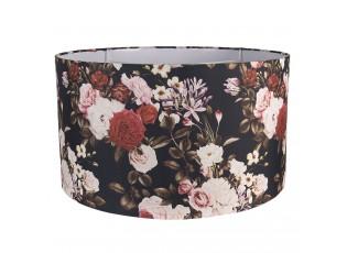 Květinové textilní stínidlo – Ø 53*30 cm / E27