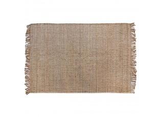 Přírodní jutový koberec s třásněmi Fringy - 200*300cm