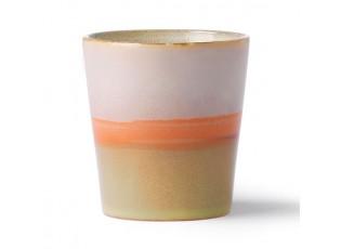 Barevný retro hrnek na kávu Mars - Ø 7,5*8cm