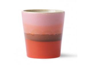 Barevný hrnek na kávu Mars - Ø 7,5*8cm