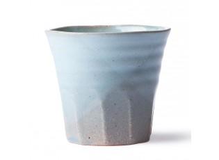 Modro šedý hrnek Bold & Basic - Ø 9*8cm  - 250ml