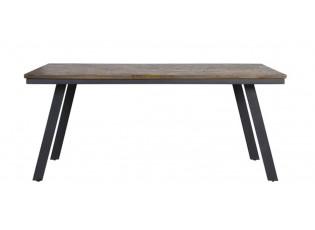 Jídelní stůl s dřevěnou deskou Ceira - 180*90*78 cm
