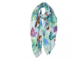 Barevný šátek se šípky - 80*180 cm