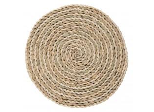 Pletené kulaté přírodní prostíání - Ø 38 cm
