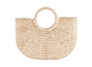 Pletená dekorační taška z rákosu - 40*10*35 cm