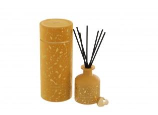 Okrový difuzér v dárkové sametové krabičče Mimosa&Rosa - 150ml