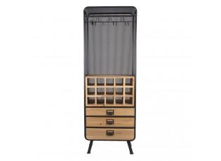 Vinařská skříňka - 57*35*163 cm
